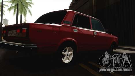 VAZ 2107 Bombilla for GTA San Andreas right view