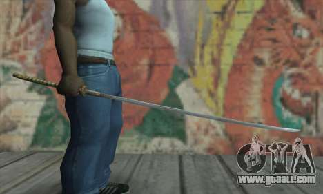 Akvirskaâ Katana from The Elder Scrolls IV: Obli for GTA San Andreas third screenshot