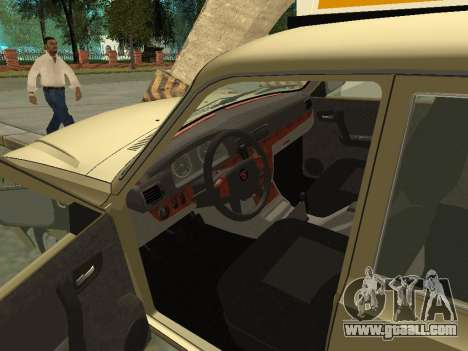 GAZ 31105 Volga Taxi for GTA San Andreas back view
