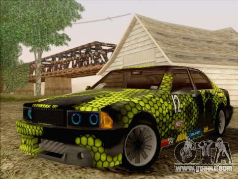 Sentinel ST for GTA San Andreas side view