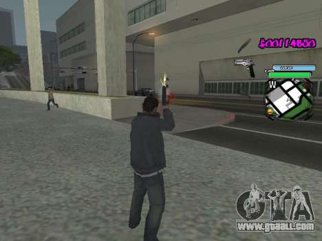HUD for GTA San Andreas eighth screenshot