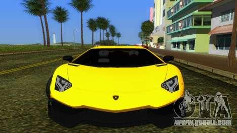 Lamborghini Aventador LP720-4 50th Anniversario for GTA Vice City left view