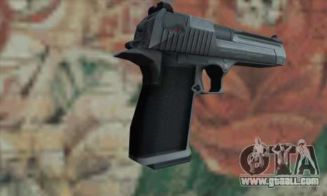 Desert Eagle Silver for GTA San Andreas second screenshot