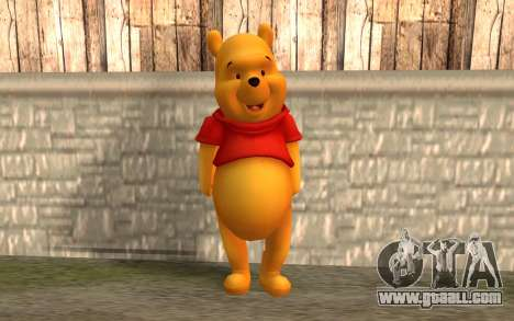 Winnie The Pooh for GTA San Andreas