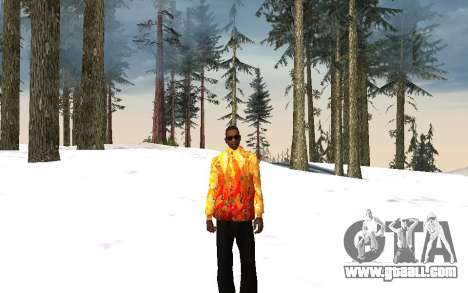 Sochi 2014 jacket for GTA San Andreas