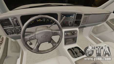 Chevrolet Suburban 2003 AMR [ELS] for GTA 4 back view