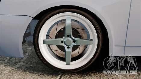 Vaz-2170 Lada Priora Turbo for GTA 4 back view