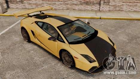 Lamborghini Gallardo 2013 v2.0 for GTA 4 upper view