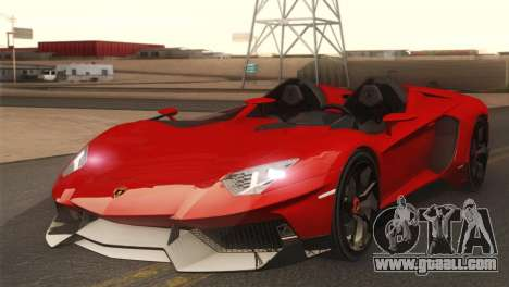 Lamborghini Aventador J 2012 v1.0 for GTA San Andreas