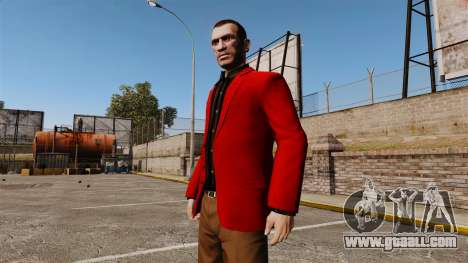 Red Jacket for GTA 4 second screenshot