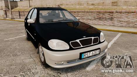 Daewoo Lanos Style 2001 Limited version for GTA 4