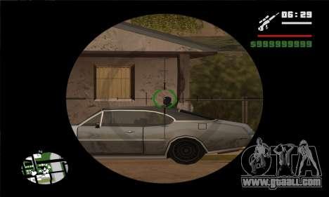 GTA V Sniper Scope for GTA San Andreas