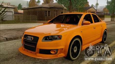 Audi RS4 for GTA San Andreas