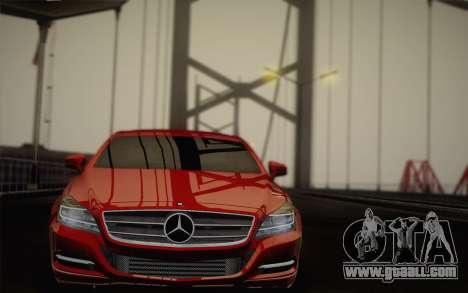 Mercedes-Benz CLS 63 AMG 2012 Fixed for GTA San Andreas interior
