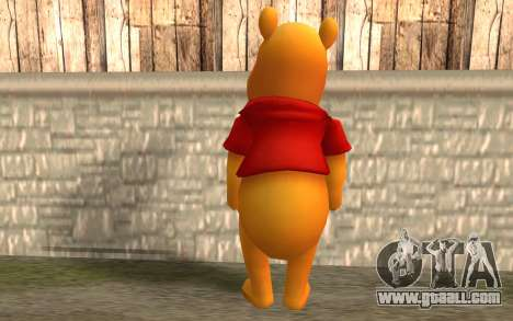 Winnie The Pooh for GTA San Andreas second screenshot