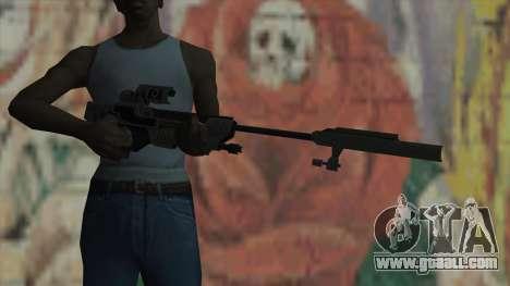 Sniper rifle of Timeshift for GTA San Andreas third screenshot