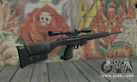 PSG-1 for GTA San Andreas second screenshot