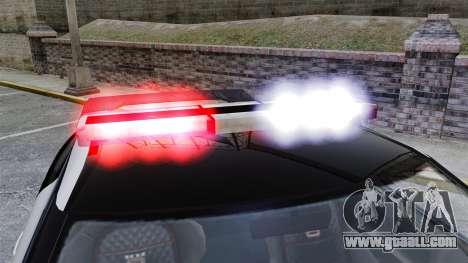 GTA V Police Elegy RH8 for GTA 4 back view