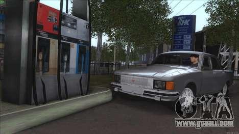 GAZ 3102 Volga for GTA San Andreas bottom view