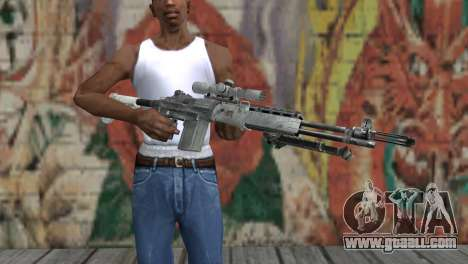 M14 EBR Arctic for GTA San Andreas third screenshot
