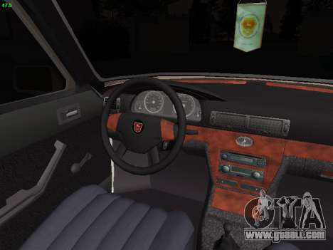 GAZ 3102 Stance for GTA San Andreas inner view