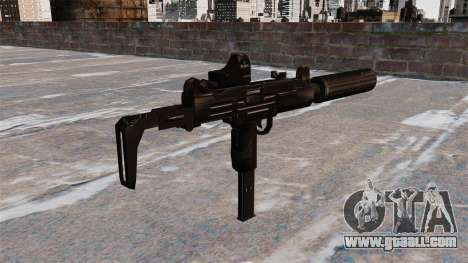 Uzi submachine gun Tactical for GTA 4 second screenshot