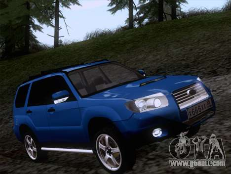 Subaru Forester 2.5XT 2005 for GTA San Andreas left view