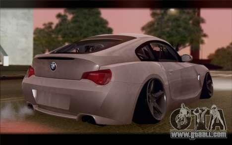 BMW Z4 Stance for GTA San Andreas left view