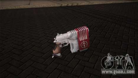 Magnum Pistol for GTA San Andreas second screenshot