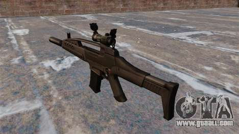 HK XM8 Assault Rifle for GTA 4 second screenshot