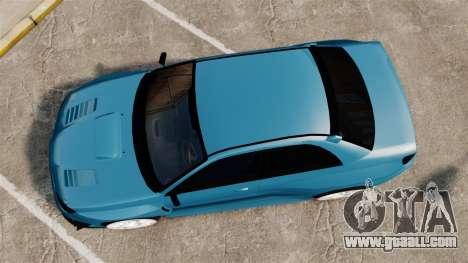Subaru Impreza HD Arif Turkyilmaz for GTA 4 right view