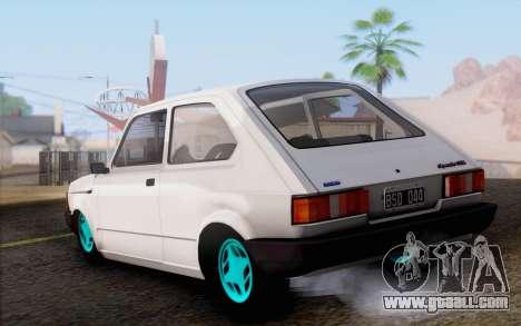 Fiat 147 Spazio-TR for GTA San Andreas left view