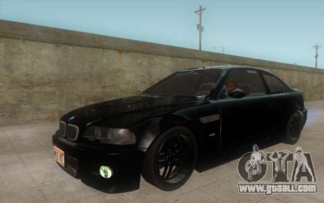 BMW M3 e46 Duocolor Edit for GTA San Andreas