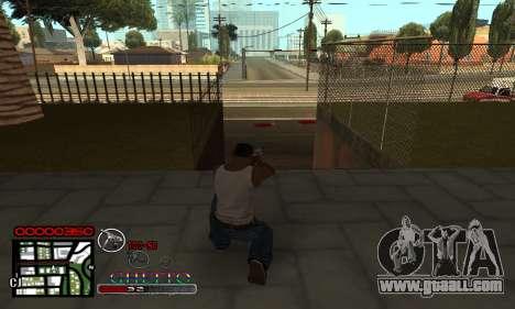 C-HUD Getto Jonka for GTA San Andreas second screenshot