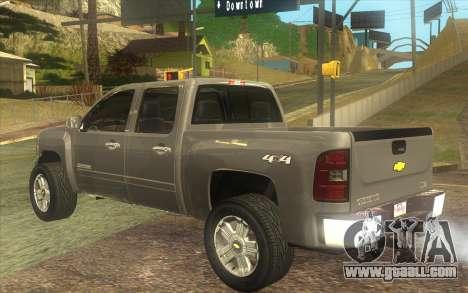 Chevrolet Cheyenne LT 2012 for GTA San Andreas left view