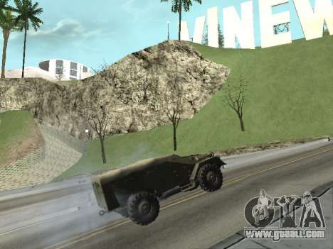 BTR-40 for GTA San Andreas right view
