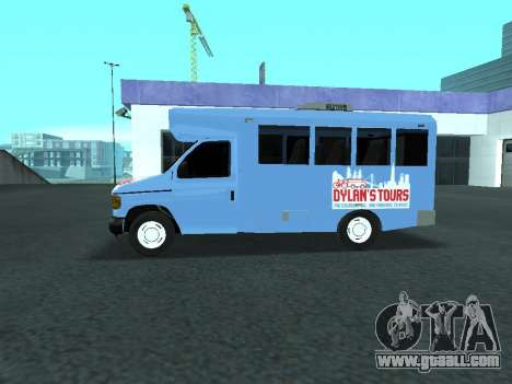 Ford Shuttle Bus for GTA San Andreas left view