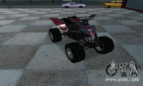 GTA 5 Blazer ATV for GTA San Andreas right view
