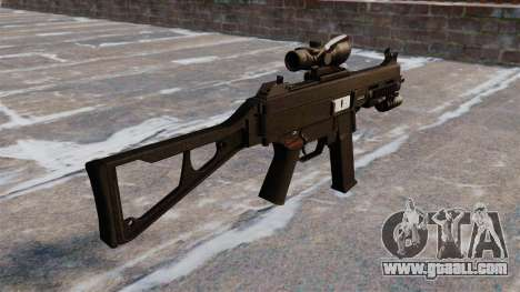 UMP45 submachine gun for GTA 4 second screenshot