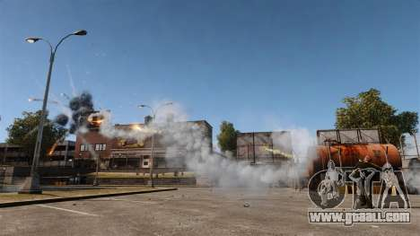 Rapid-fire rocket launcher for GTA 4