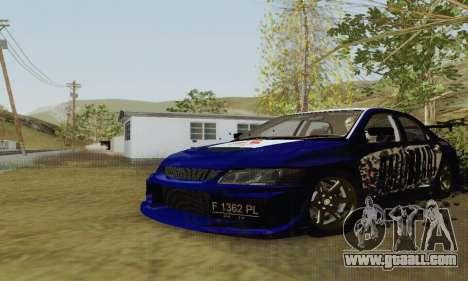 Mitsubishi Lancer EVO VIII MR GSR WMMT for GTA San Andreas