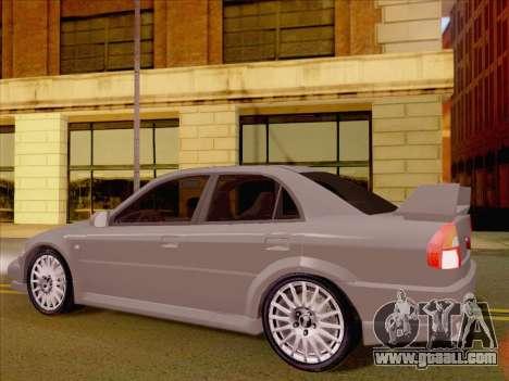 Mitsubishi Lancer Evolution VI LE for GTA San Andreas right view