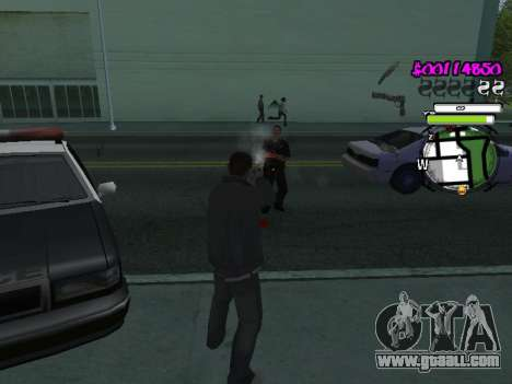 HUD for GTA San Andreas fifth screenshot