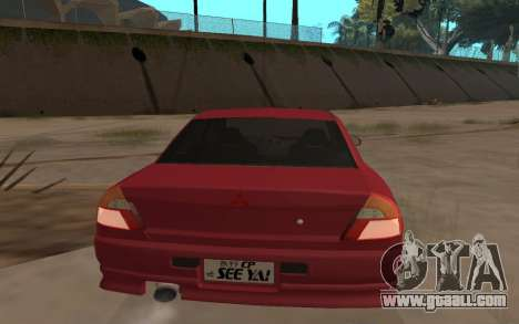 Mitsubishi Lancer Evolution VI for GTA San Andreas left view