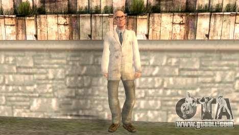Dr. Kleiner for GTA San Andreas