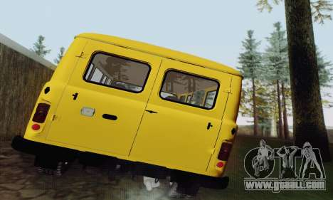 UAZ 2206 Loaf for GTA San Andreas back view