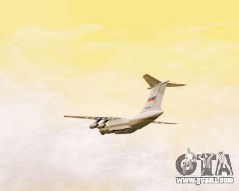 Il-76td EMERCOM of Russia for GTA San Andreas side view