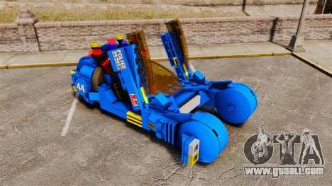 Lego Car Blade Runner Spinner [ELS] for GTA 4 inner view