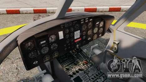 Bell UH-1 Iroquois v2.0 Gunship [EPM] for GTA 4 back view