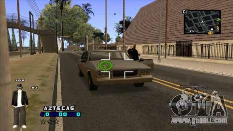 C-HUD Aztecaz for GTA San Andreas third screenshot